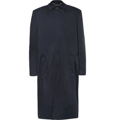 Balenciaga - Oversized Cotton-Twill Coat