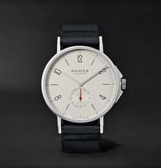 NOMOS Glashütte - Ahoi Automatic 40mm Stainless Steel and Nylon Watch