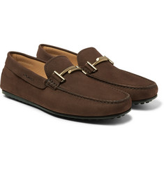 Tod's - City Gommino Nubuck Loafers