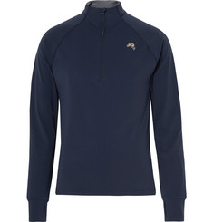 Tracksmith Fresh Pond Stretch-Jersey Half-Zip Top