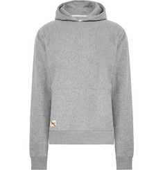 Tracksmith Trackhouse Fleece-Back Cotton-Blend Jersey Hoodie
