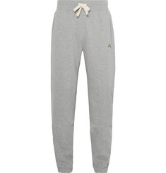 Tracksmith Trackhouse Fleece-Back Cotton-Blend Jersey Sweatpants