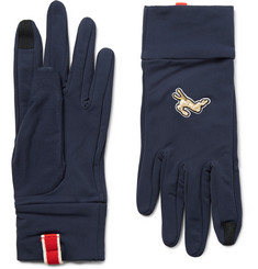 Tracksmith Inverno Stretch-Jersey Gloves