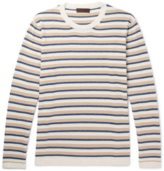 Altea Striped Cotton Sweater