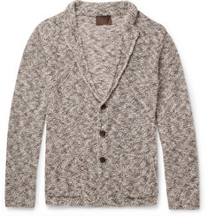 Altea Mouline Mélange Knitted Cardigan