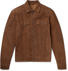 Altea Suede Trucker Jacket