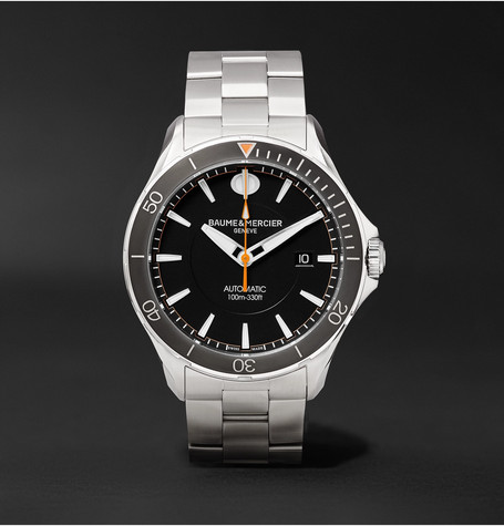 Clifton Club Automatic 42mm Stainless Steel Watch - Silver