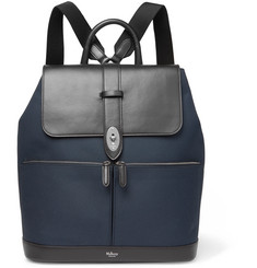 Mulberry - Reston Canvas and Leather Backpack