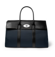 Mulberry - Piccadilly Leather and Canvas Holdall