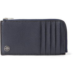 Mulberry Full-Grain Leather Zip-Around Cardholder
