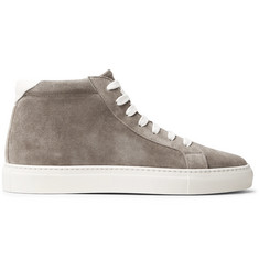 Brunello Cucinelli Apollo Suede High-Top Sneakers