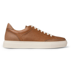 Brunello Cucinelli Apollo Full-Grain Leather Sneakers