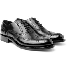 O'Keeffe - Algy Polished-Leather Wingtip Brogues