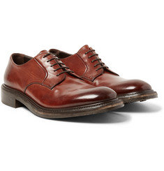 O'Keeffe - Echo Polished-Leather Derby Shoes