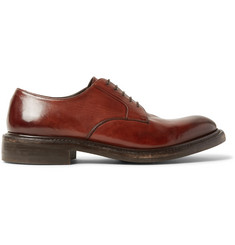 O'Keeffe Echo Polished-Leather Derby Shoes