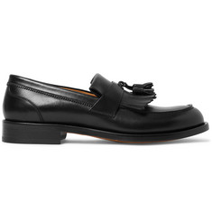 O'Keeffe Cambridge Leather Tasselled Kiltie Loafers