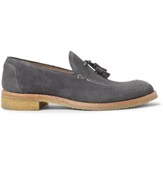O'Keeffe Algy Suede Tasselled Loafers