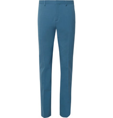 Joseph Blue Jack Stretch-Twill Suit Trousers