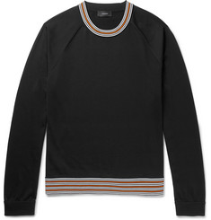 Joseph - Contrast-Trimmed Jersey Sweater