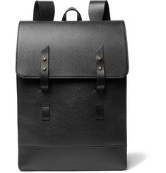 Miansai Full-Grain Leather Backpack