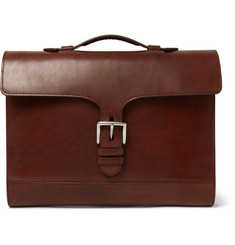 James Purdey & Sons Burnished-Leather Briefcase