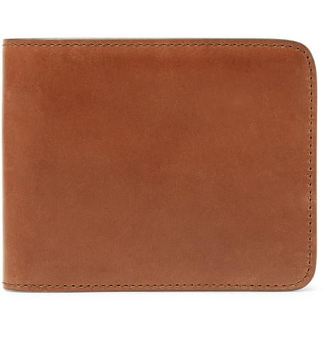 James Purdey & Sons Leather Billfold Wallet - Brown - One Siz