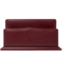James Purdey & Sons Textured-Leather Letter Rack