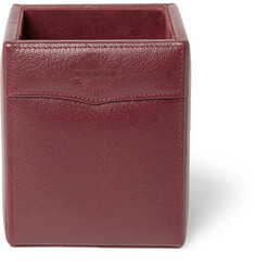 James Purdey & Sons Textured-Leather Pen Holder