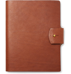 James Purdey & Sons - Full-Grain Leather-Bound Notebook
