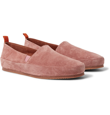 Suede Loafers - StoneMulo GylkDANCny