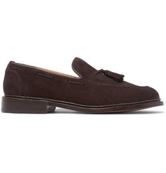 Tricker's Elton Tasseled Suede Loafers