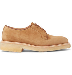 Tricker's Suede Derby Shoes