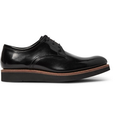 Grenson Lennie Polished-Leather Derby Shoes