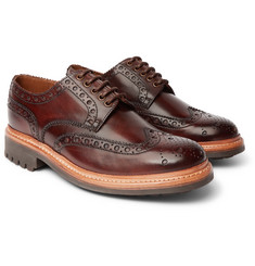 Grenson - Archie Leather Wingtip Brogues
