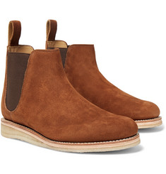 Grenson - Heath Full-Grain Nubuck Chelsea Boots