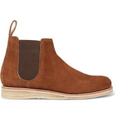 Grenson Heath Full-Grain Nubuck Chelsea Boots