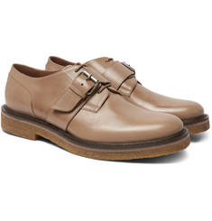 Dries Van Noten - Leather Monk-Strap Brogues
