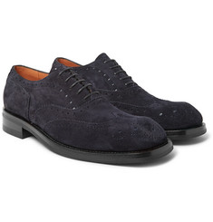Dries Van Noten - Suede Wingtip Brogues