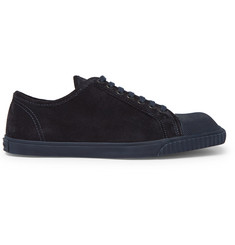 Dries Van Noten Cap-Toe Suede Sneakers