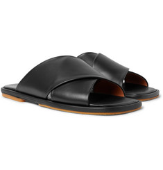 Dries Van Noten - Leather Slides