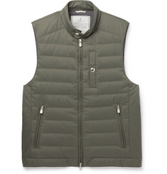 Brunello Cucinelli - Quilted Shell Gilet