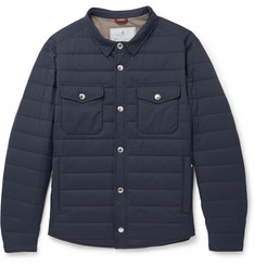 Brunello Cucinelli - Quilted Shell Jacket
