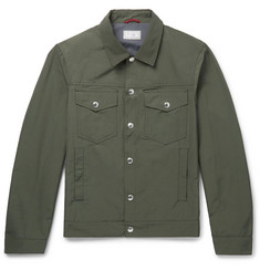 Brunello Cucinelli Slim-Fit Shell Blouson Jacket