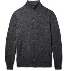 Brunello Cucinelli Slim-Fit Mélange Cotton Cardigan
