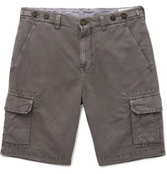 Brunello Cucinelli - Linen and Cotton-Blend Cargo Shorts