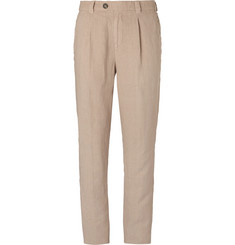 Brunello Cucinelli Linen Trousers