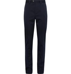 Brunello Cucinelli Slim-Fit Cotton-Twill Trousers