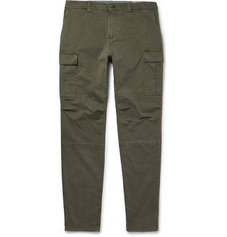 Stretch-cotton Cargo Trousers Brunello Cucinelli Clearance 2018 Unisex ky5jhcbc5