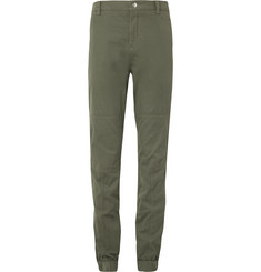 Brunello Cucinelli Stretch-Cotton Twill Trousers