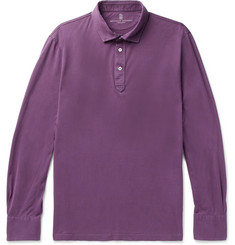 Brunello Cucinelli - Cotton-Jersey Polo Shirt